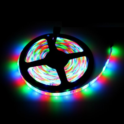 12V 5050 3 ÇİP 5 MT RGB ŞERİT LED (KUMANDA+ADAPTÖR)