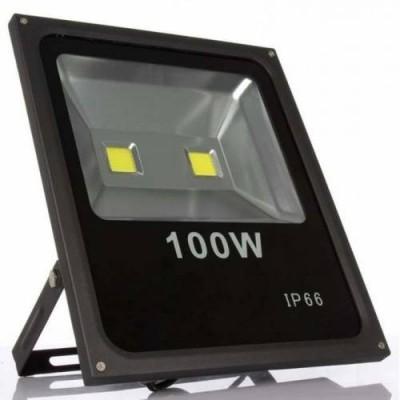 12 Volt  100 Watt COB LED Projektör - Tüm Renkler